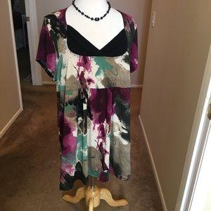 Dress Barn Plus Size Tunic Style Top